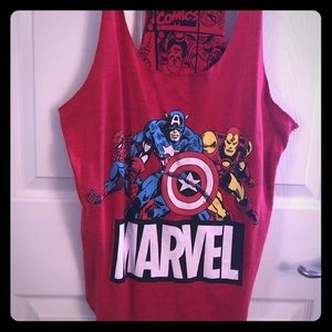 Tops - Pre loved Superhero tank great condition